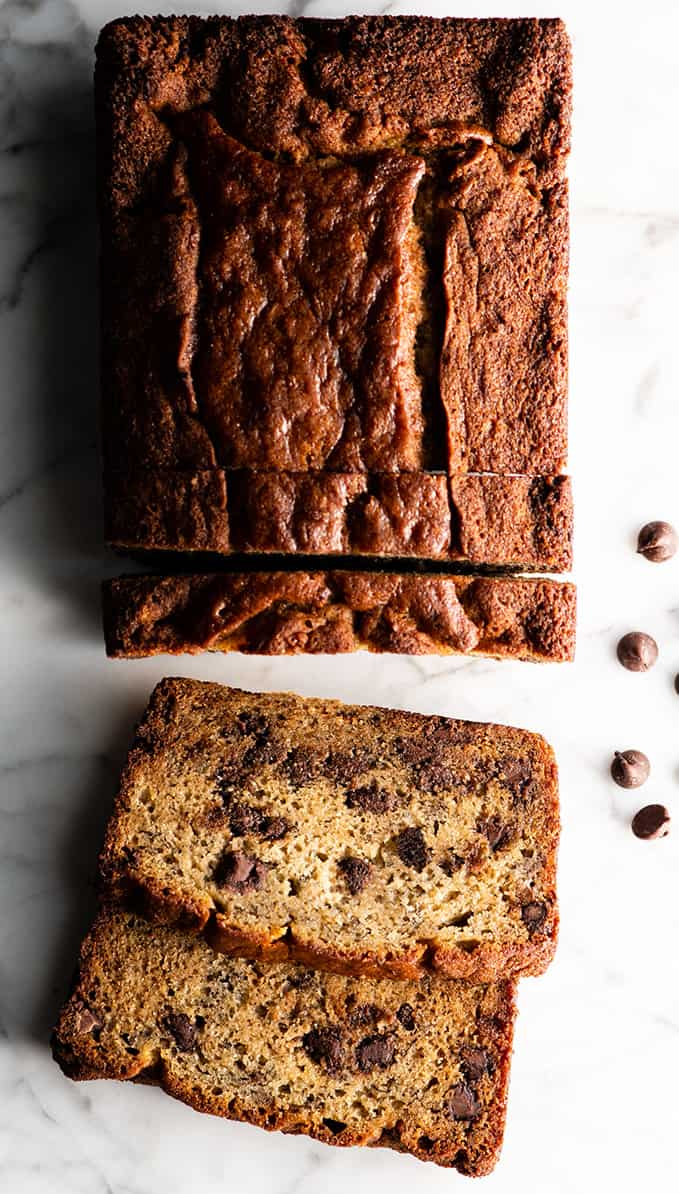 Chocolate Chip Banana Bread Joyfoodsunshine