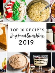 Top 10 Recipes 2019