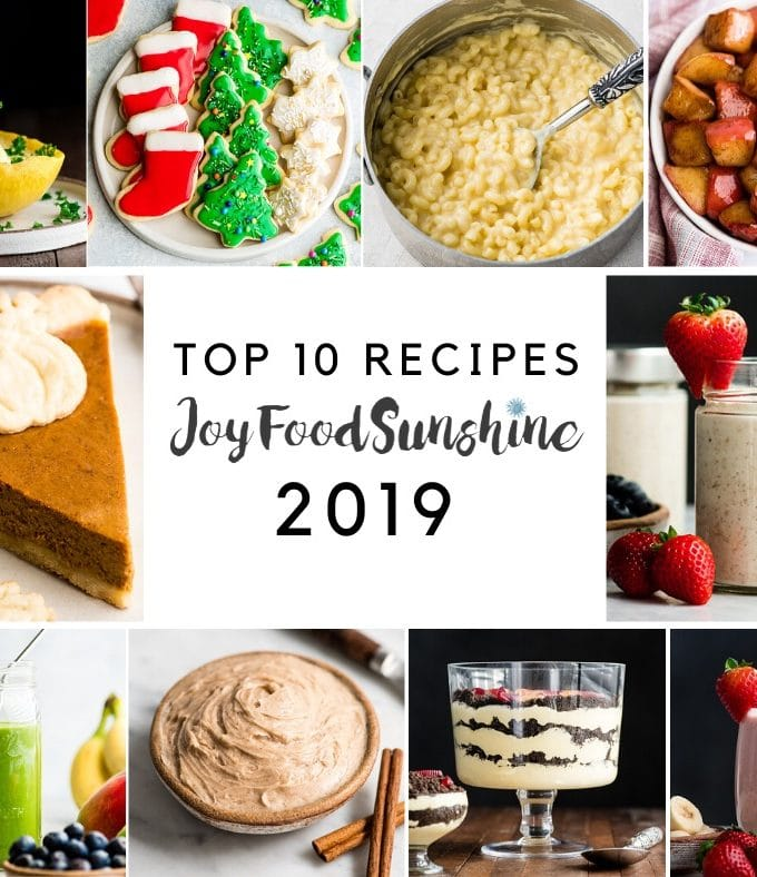 Top 10 Recipes 2019