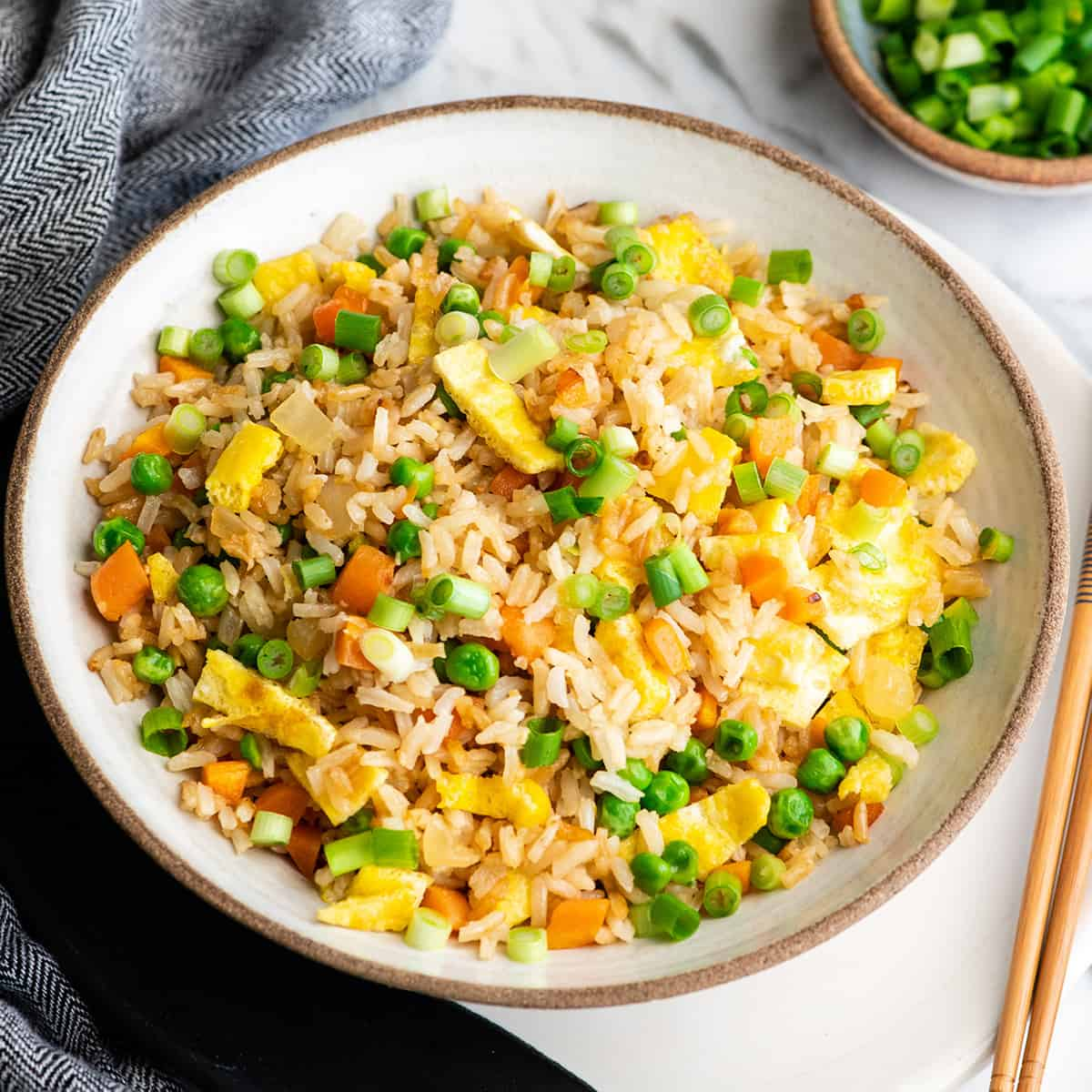 Fried Rice Recipe Joyfoodsunshine