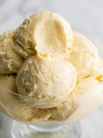 Best Homemade Vanilla Ice Cream (Video)