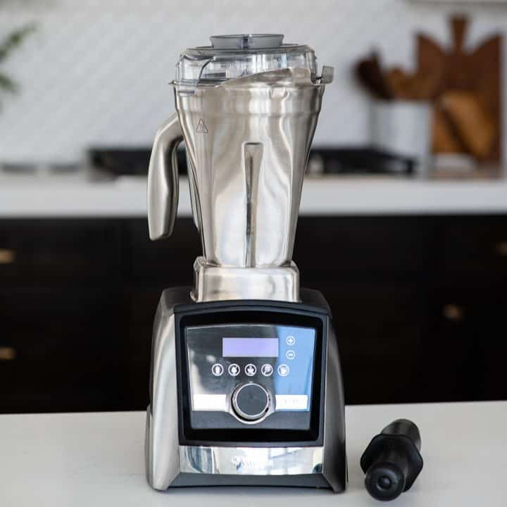 Vitamix Stainless Steel Container on an A3500 blender