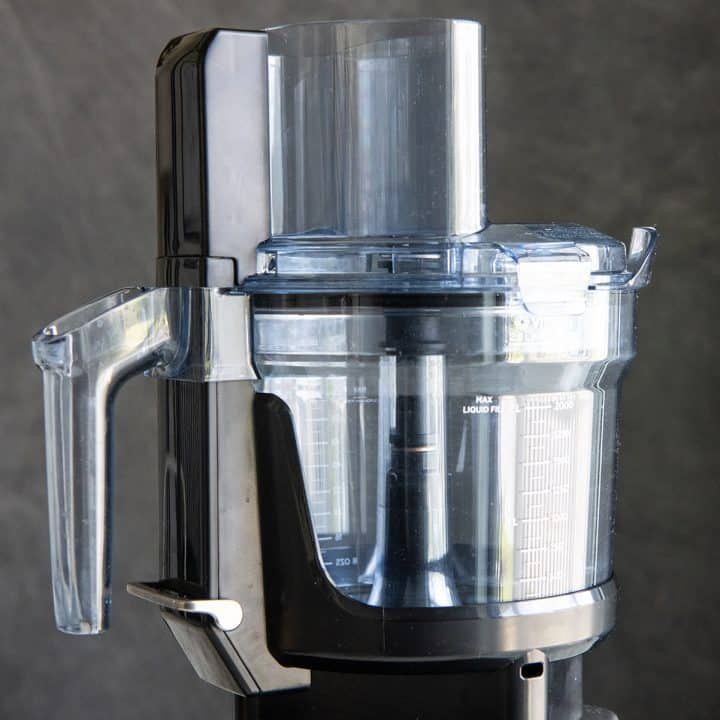 front photo of the Vitamix Food Processor
